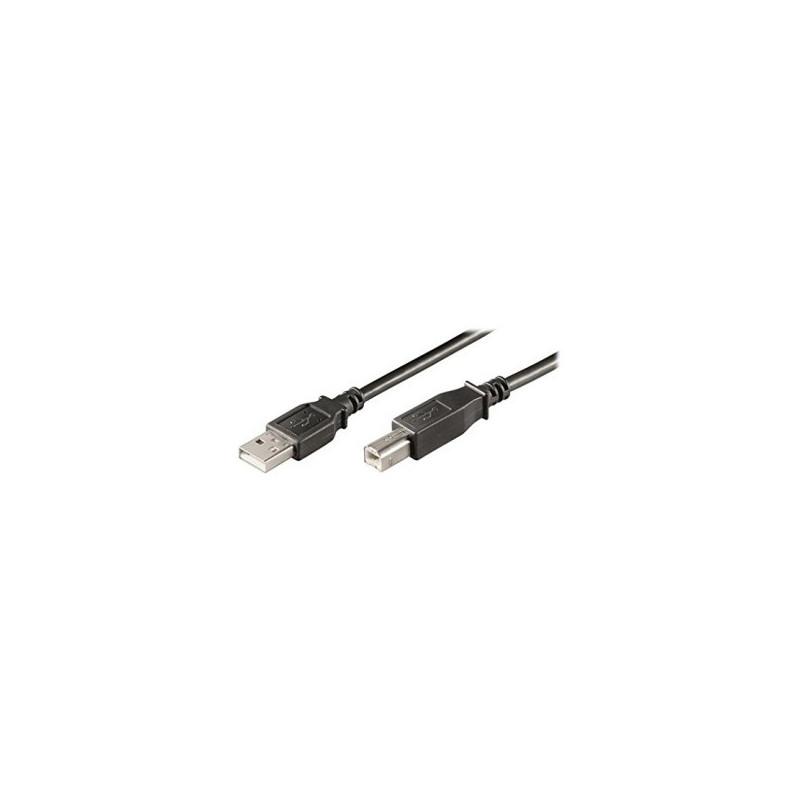 EWENT EW-UAB-010 1m USB B USB A Nero cavo USB