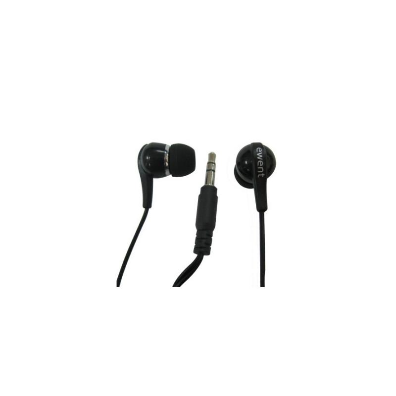 EWENT EW3584 Auricolare In-Ear Nero