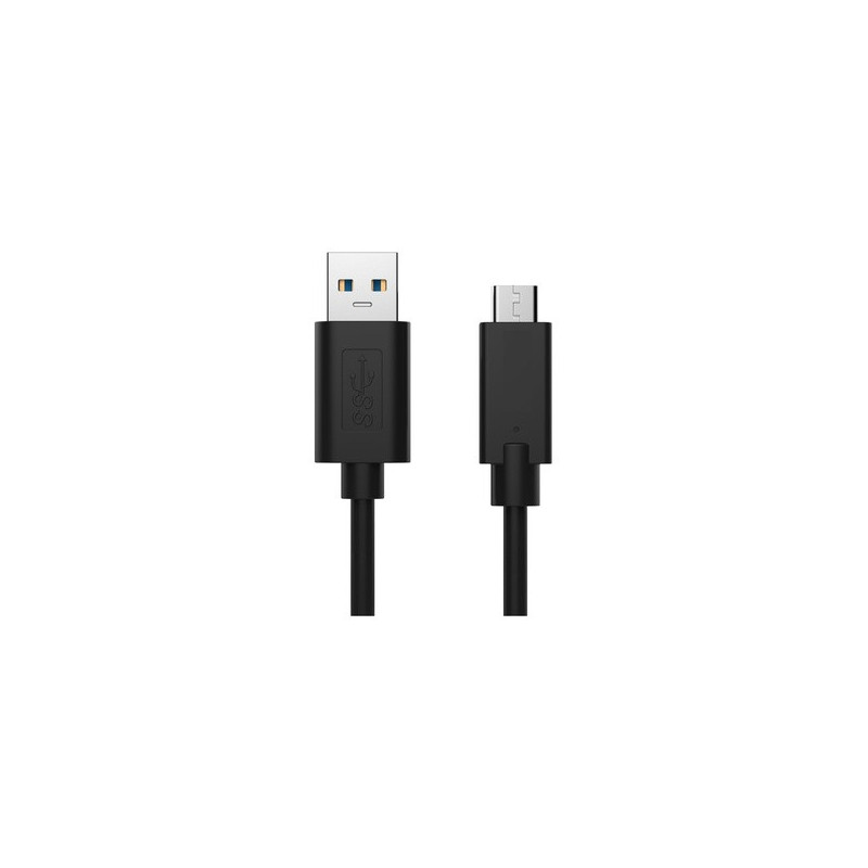 EWENT EW-100117-010-N-P 1m 3.2 Gen 2 USB B-USB C Nero
