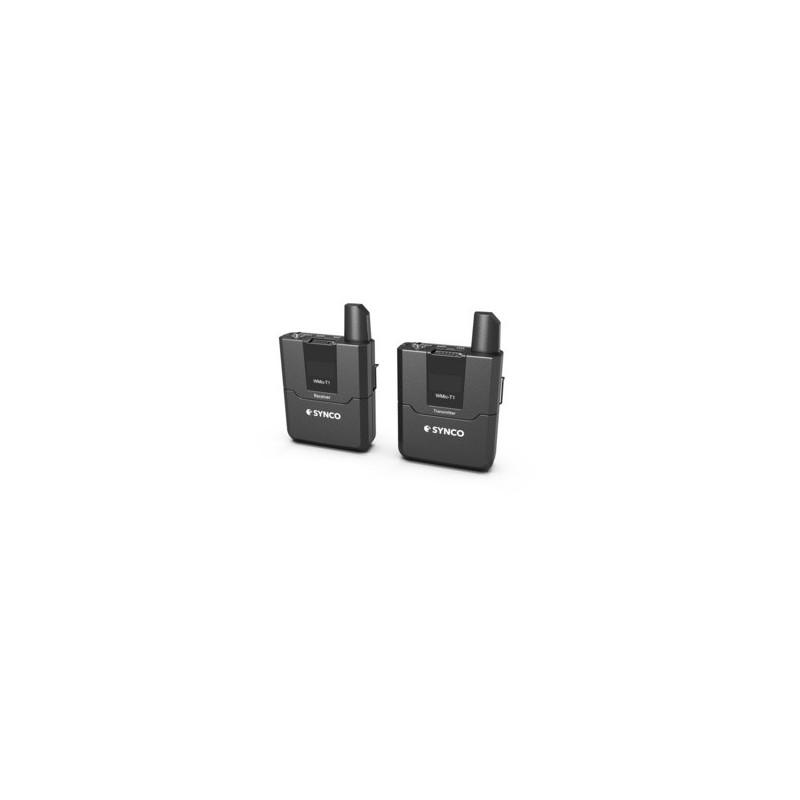 Synco Kit Microfono lavalier WMic-T1 Trasmettitore + Ricevitore Wireless