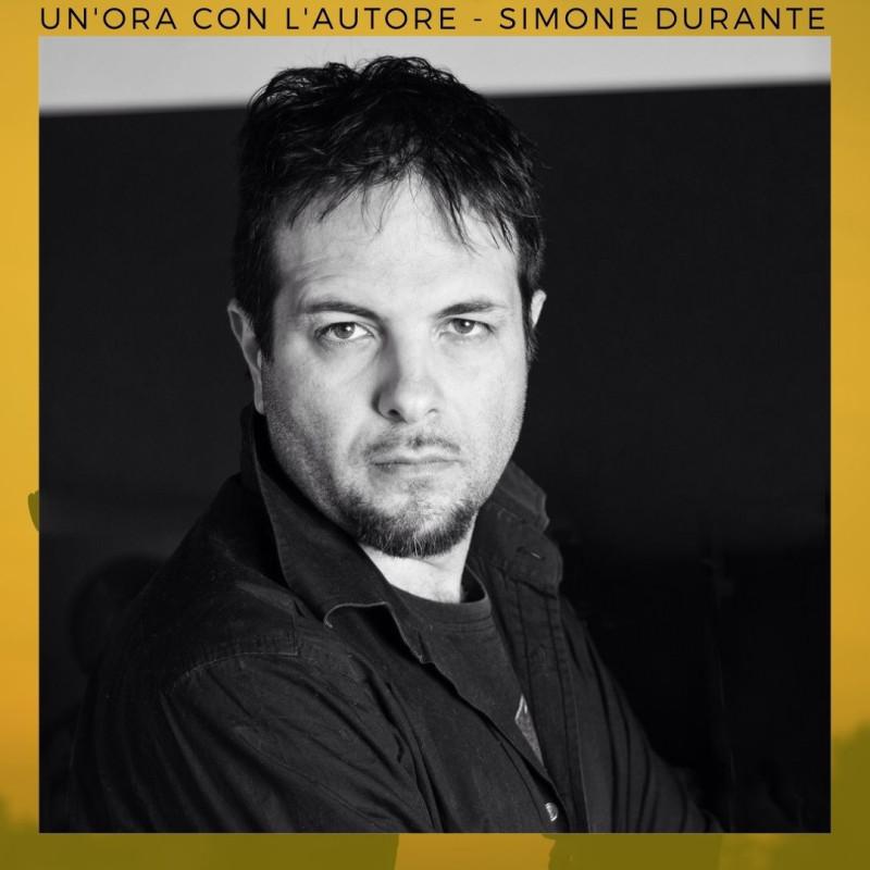 Un'ora con l'autore: Simone Durante