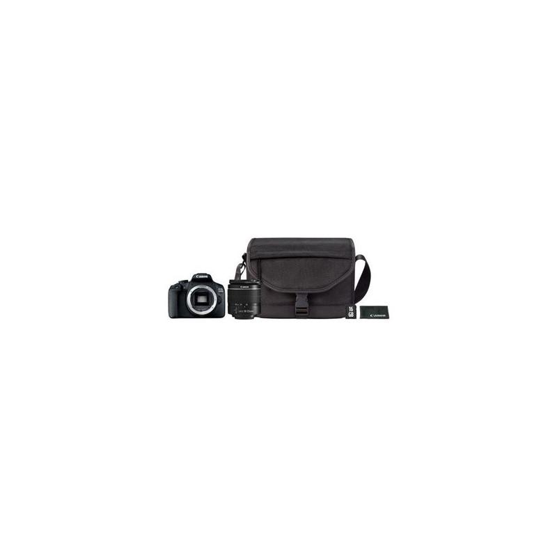 Canon EOS 2000D 18-55 DC + SB130 + 16GB Nero