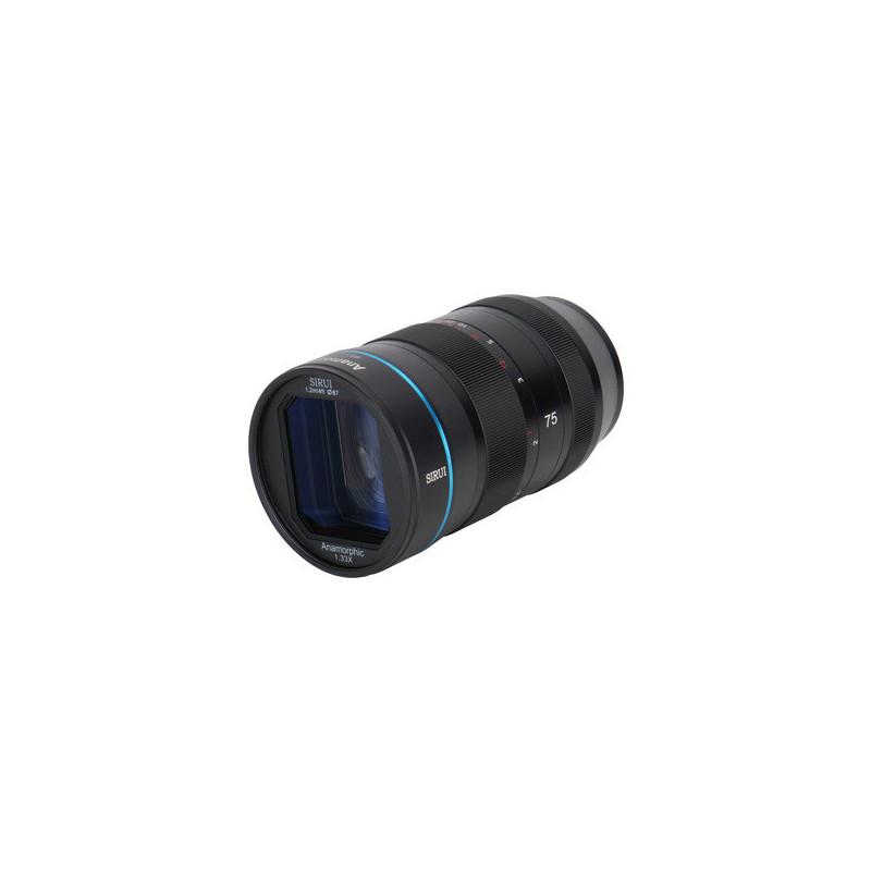 SIRUI 75mm f/1.8 Anamorphic 1.33x Fuji X