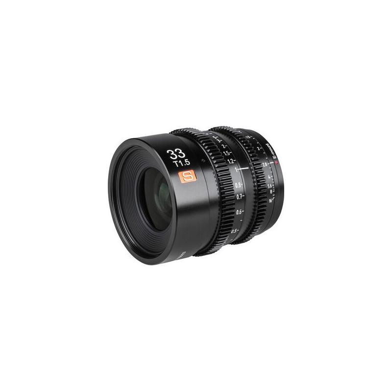 Viltrox Cine APS-C MF 33mm /T1.5 Sony E-Mount
