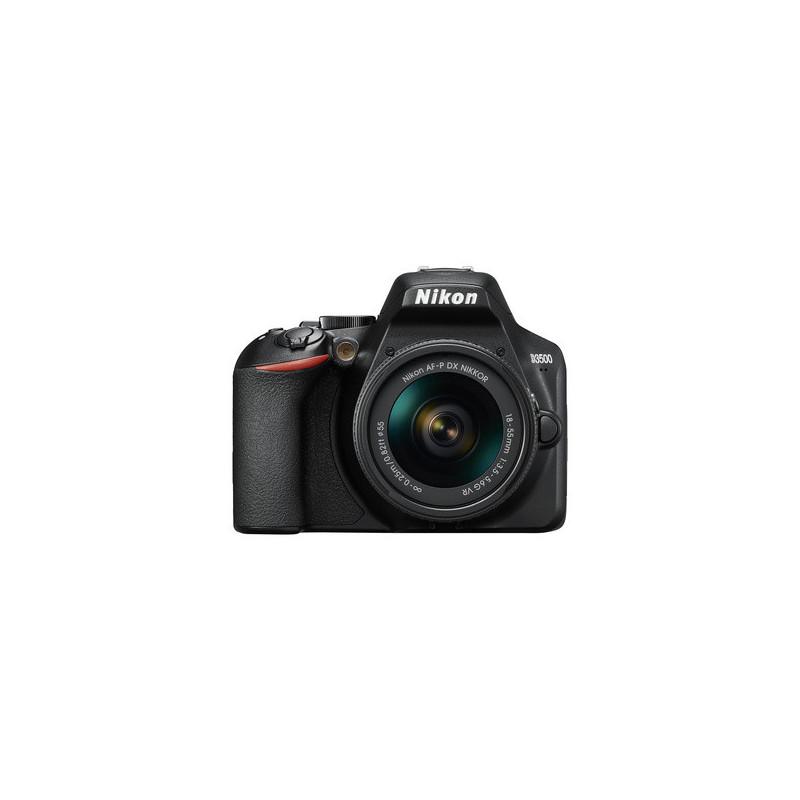 Nikon D3500 + AF-P DX 18-55mm f/3.5-5.G VR + SD Lexar 32GB 633X
