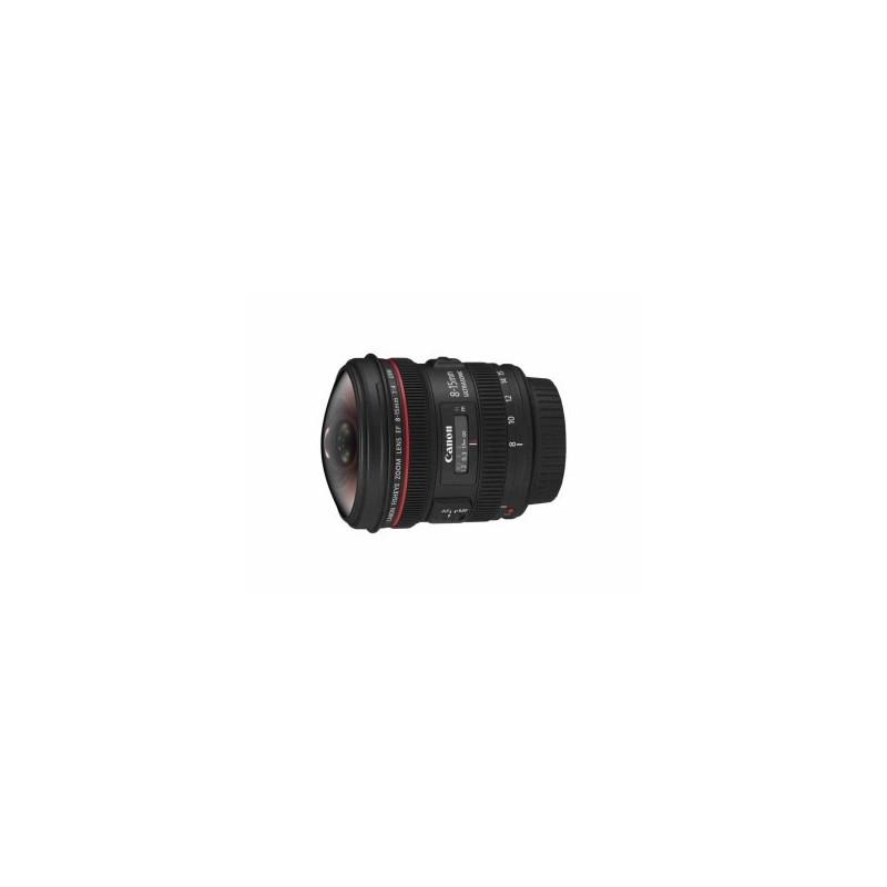 Canon EF 8-15mm f/4.0 L USM Fisheye con Omaggio Panno Pulizia