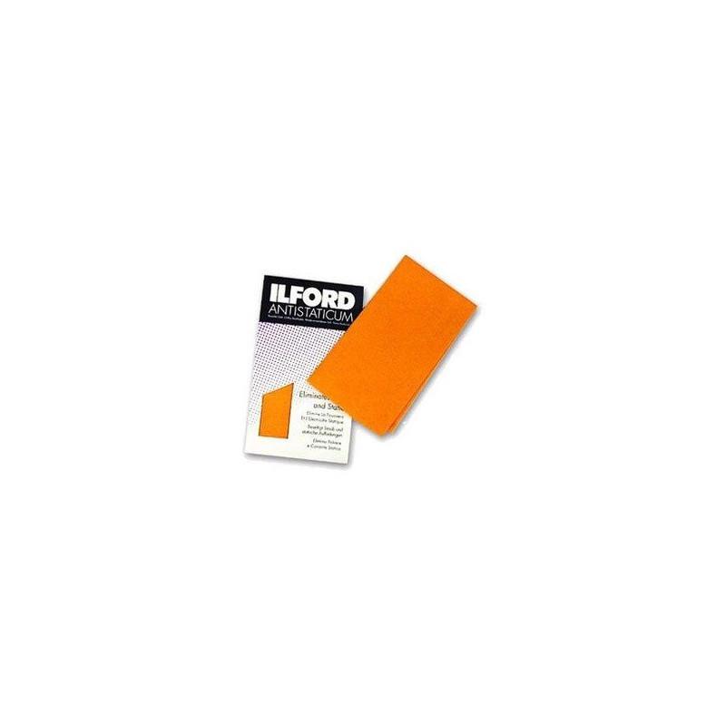 Ilford Antistaticum 13 x 13'' Strofinaccio Arancione