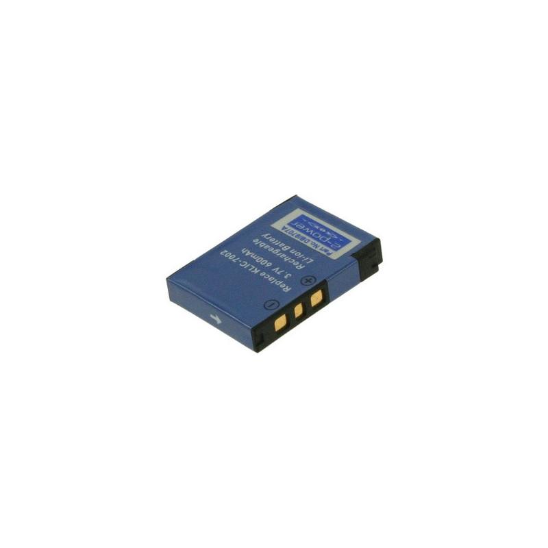 2-POWER DBI9707A Batteria per fotocamera/videocamera Ioni di Litio 600 mAh