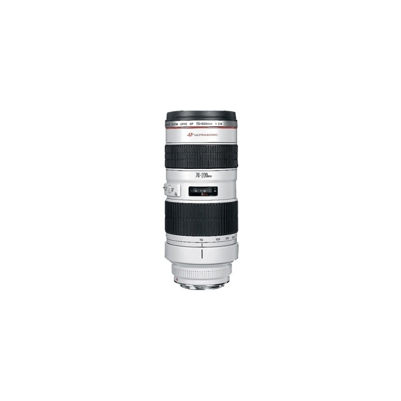 Canon EF 70-200mm f/2.8 L USM + Paraluce + Borsa
