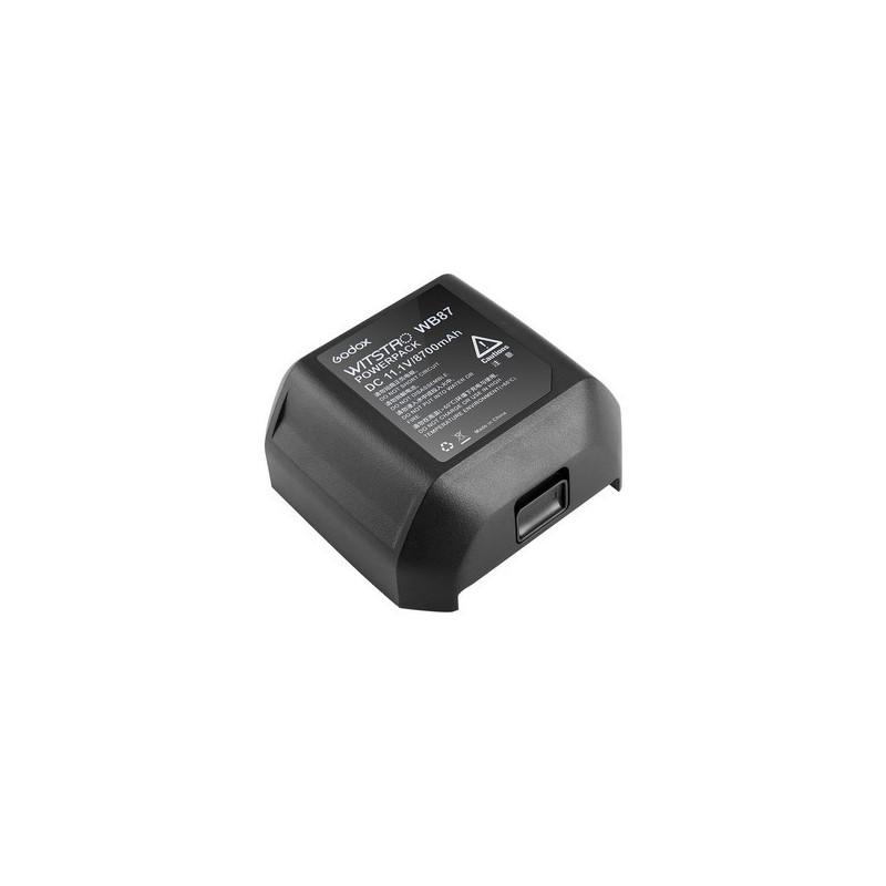 Godox Batteria ricaricabile WB87 11,1v 8700 mAh per AD600 e SLB-60w