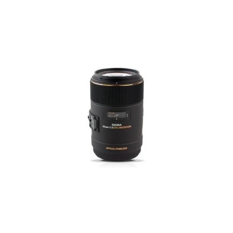 Sigma 105mm f/2.8 EX DG Macro OS HSM Canon stabilizzato