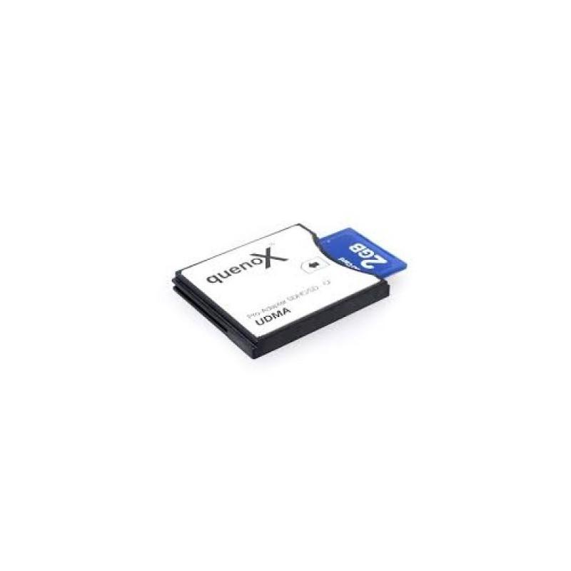 QUENOX Adattatore per schede SD a CF
