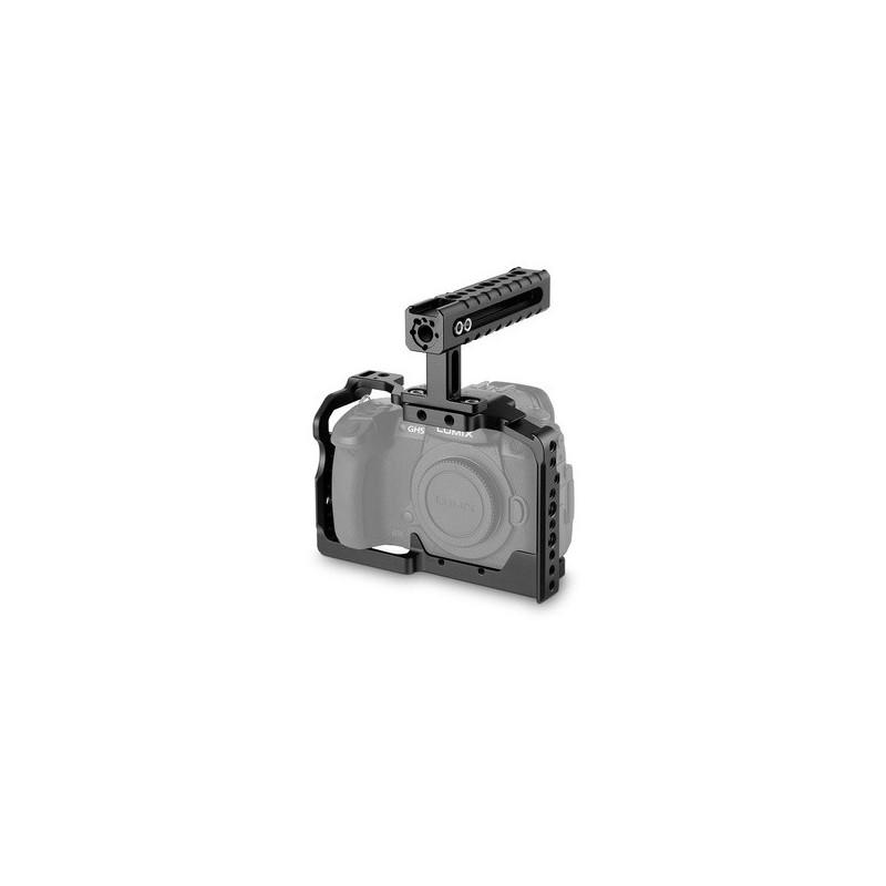 SmallRig Gabbia 2050 per Panasonic GH5 con impugnatura