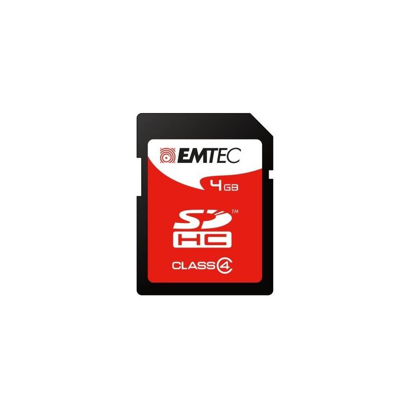 EMTEC 4GB SD classe 4 Silver 30Mb/6Mb